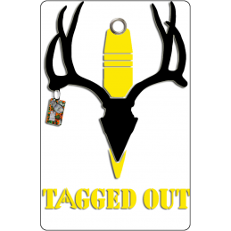Tagged Out Yellow