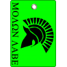 Molon labe & Helm Hunter Tag