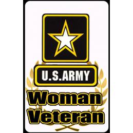 Women Army Hunting Tag