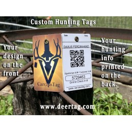 deer tag, big game tag