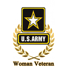 Women Army Hunting Tag