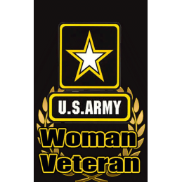 Women Army Hunt Tag Black