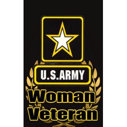 Women Army Hunt Tag Black