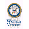 Woman Navy hunting Tag