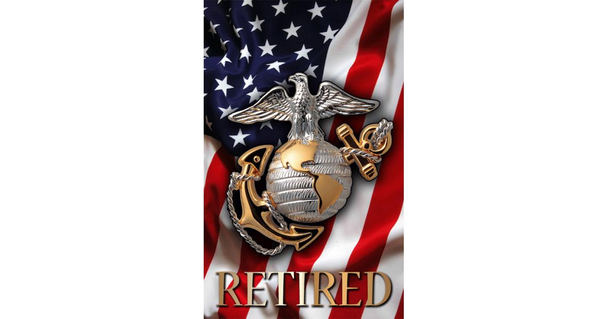 Retired Marine hunt Tag
