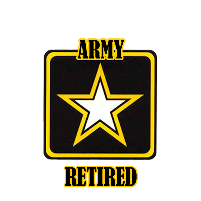 Retired Army Big Game Tag