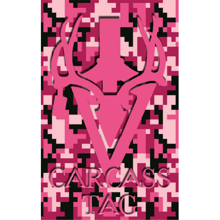 Pixel Big Game Tag Pink