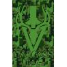 Pixel Big Game Tag Green
