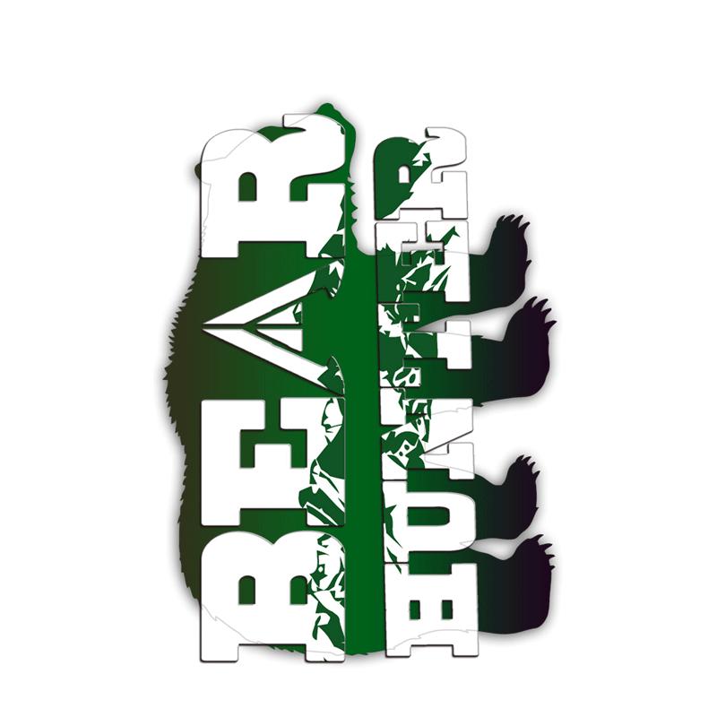 Bear Tag Green