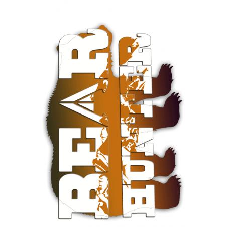 Bear Tag Brown
