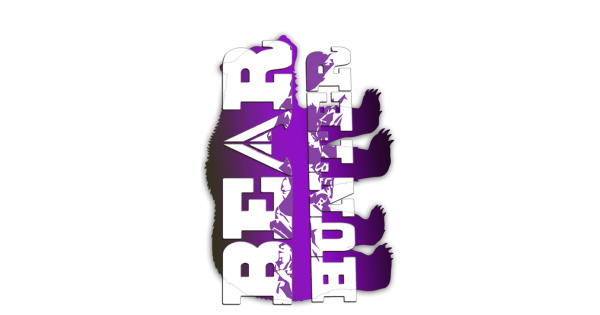Bear Tag Purple