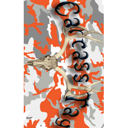 Camo Orange Deer Tag