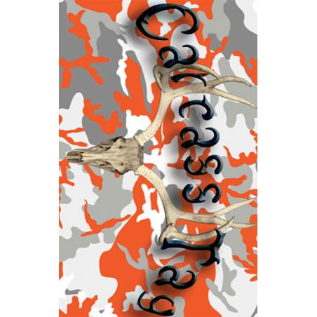 Camo Orange Deer Tag
