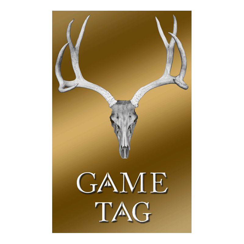 Mule Deer Deer Tag