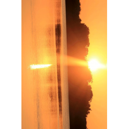 Sunset Hunter Tag