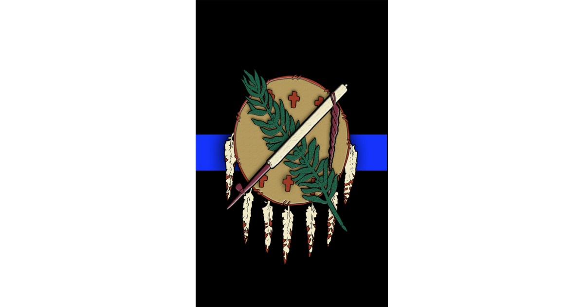 Oklahoma hunting Tag Blue