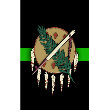 Oklahoma hunting Tag Green