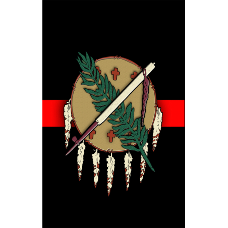 Oklahoma hunting Tag Red
