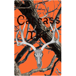 Realtree Orange and Black