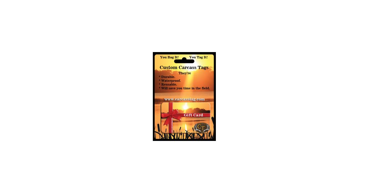 #hunttaggiftcard #hunttag