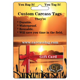 Hunt Tag Gift Card #HuntTagGiftCard