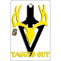 Tagged Out Tag Yellow
